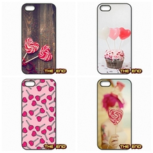 Sweet Pink Heart Lollipops Kawaii Mobile Phone Case Sony Xperia Z Z1 Z2 Z3 Z5 Compact X XA M2 M4 M5 C3 C4 C5 T2 T3 E4 E5 - The End Cases Store store