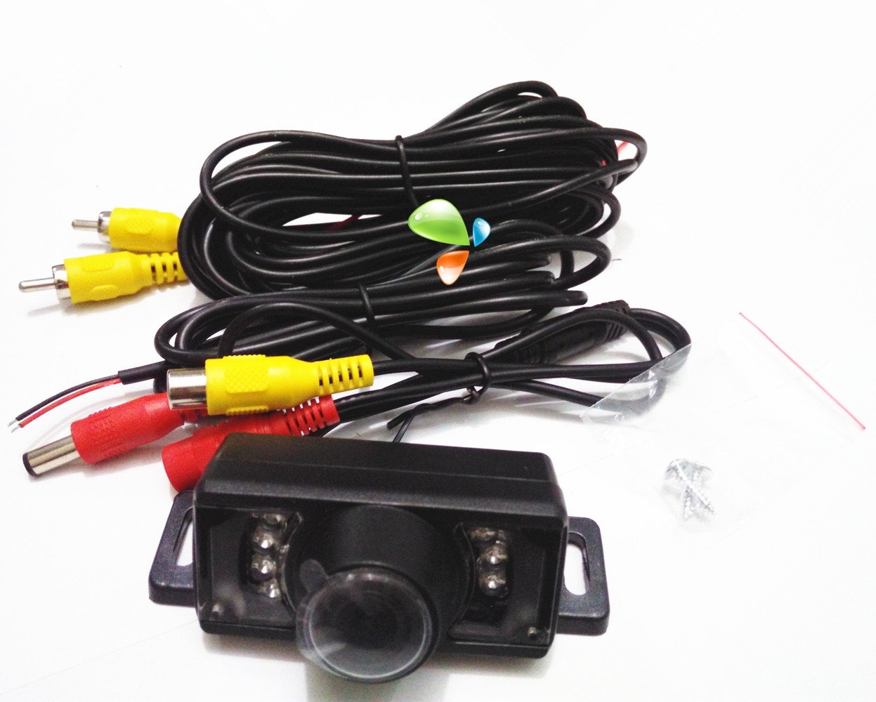 Car camera outside the size of plug-in plug-in car reversing camera CCD HD night vision super small(China (Mainland))