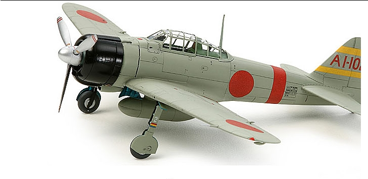 Aircraft model 25170 Tamiya 1/72 Mitsubishi Zero fighter A6M2b W / 8(China (Mainland))