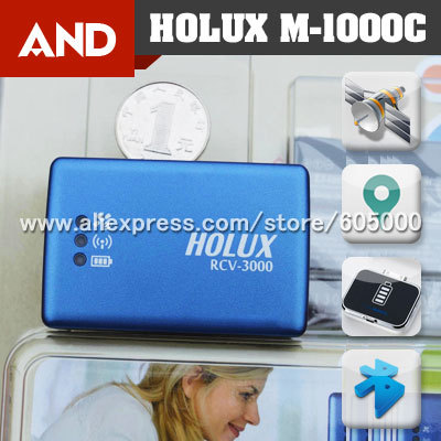 Holux RCV-3000 Wireless GPS Bluetooth Receiver data logger/Advanced M1000C&M1000(China (Mainland))