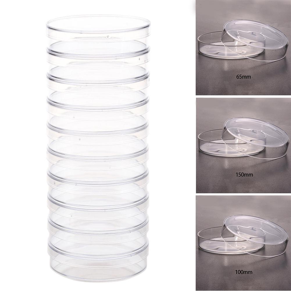 Стерильные для клетки 10 шт посуда Петри Доступные Хрустящие лабораторные aeProduct.getSubject()