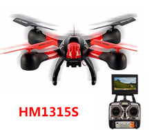 FPV Version SKY Hawkeye HM1315S Headless Mode One Key Return Drone Real-time Transmission RC Quadcopter with Camera RTF