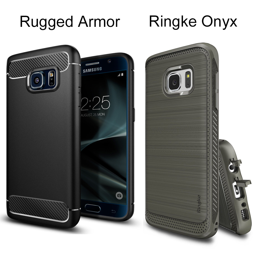 Original SGP Rugged Armor Cases for Galaxy S7 Ringke Onyx Case Durable Flexible TPU Defensive Cover Cases for Samsung Galaxy S7(China (Mainland))