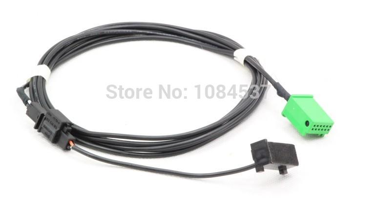 VW passat Magotan A4L A6L Q5 Q7 RNS315 bluetooth wire harness With Microphone(China (Mainland))