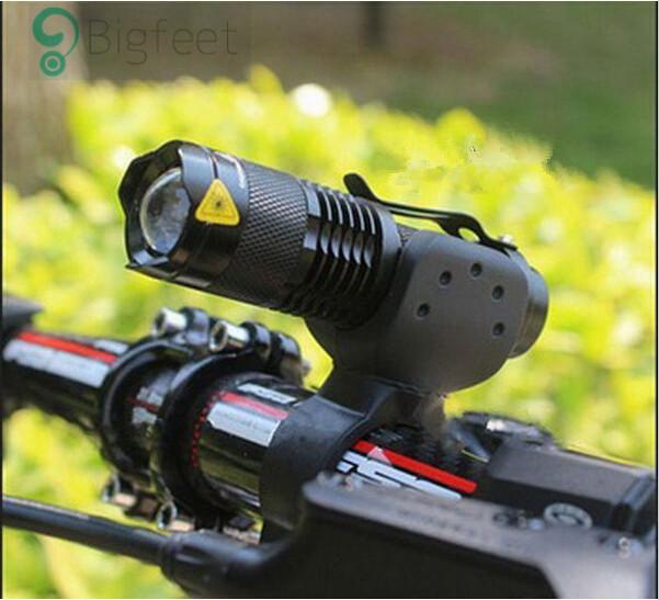 Bicycle Light 7 Watt 2000 Lumens 3 Mode CREE Q5 LED cycling Front Light Bike lights Lamp Torch Waterproof ZOOM flashlight BL0502(China (Mainland))