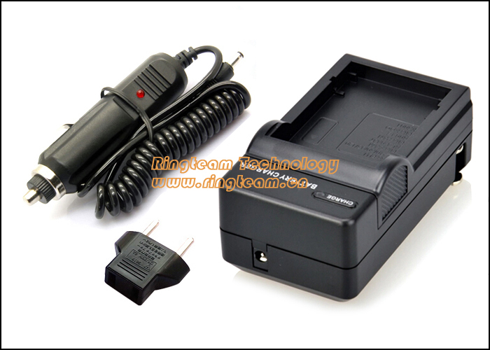 Compact Battery Charger Set for Kodak KLIC-5000 / Fuji NP-60/ Panasonic<br><br>Aliexpress