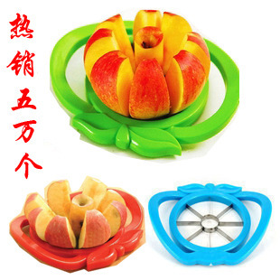 Large manufacturers from marketing Sectional fruit apple fruit cut fruit device Apple slicer stainless steel fruit knife slicing(China (Mainland))