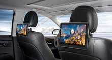 10.1 inch Car Headrest Android Pad Car PC with Multi-point Capacitive Touch Screen WI-FI Camera office game(China (Mainland))
