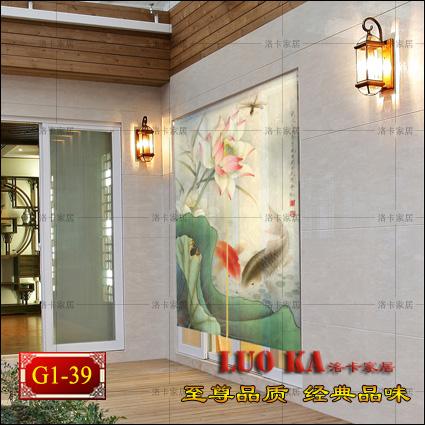 New Feng Shui Feng Shui Curtain Printing Fish Rich Dutch