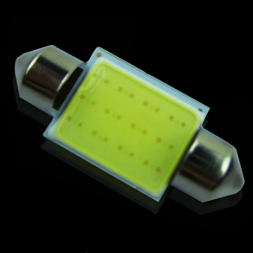 1pc 36mm C5W C3W DE3423 6461 DE3425 Festoon COB led Car Licence Plate Light Auto housing Interior Dome lamps Reading Lights(China (Mainland))