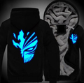 New Anime BLEACH Kurosaki ichigo Sweatshirts Hoodie Luminous Unisex Thicken Jacket Coat