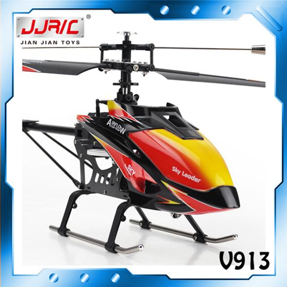Free Shipping Wholesale WL V913 rc helicopter toys big size 2.4G 4CH rc helicopter toys V913 rc helicopter large size helicopter(China (Mainland))