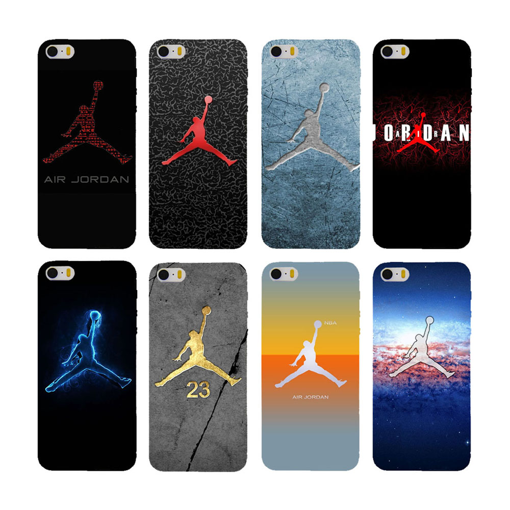 mobile phone Case for iphone 5s 4s 4c 6 6plus and Case for Samsung S3 S4 S5 S6 S7 Note 2 3 4 5 Housing Jordan logo(China (Mainland))