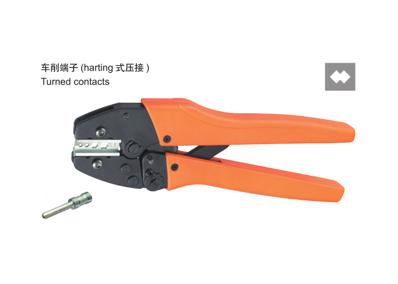 Ratchet crimping plier 4,6,10mm2 Turned contacts Dedicated cable connector crimping tool(China (Mainland))