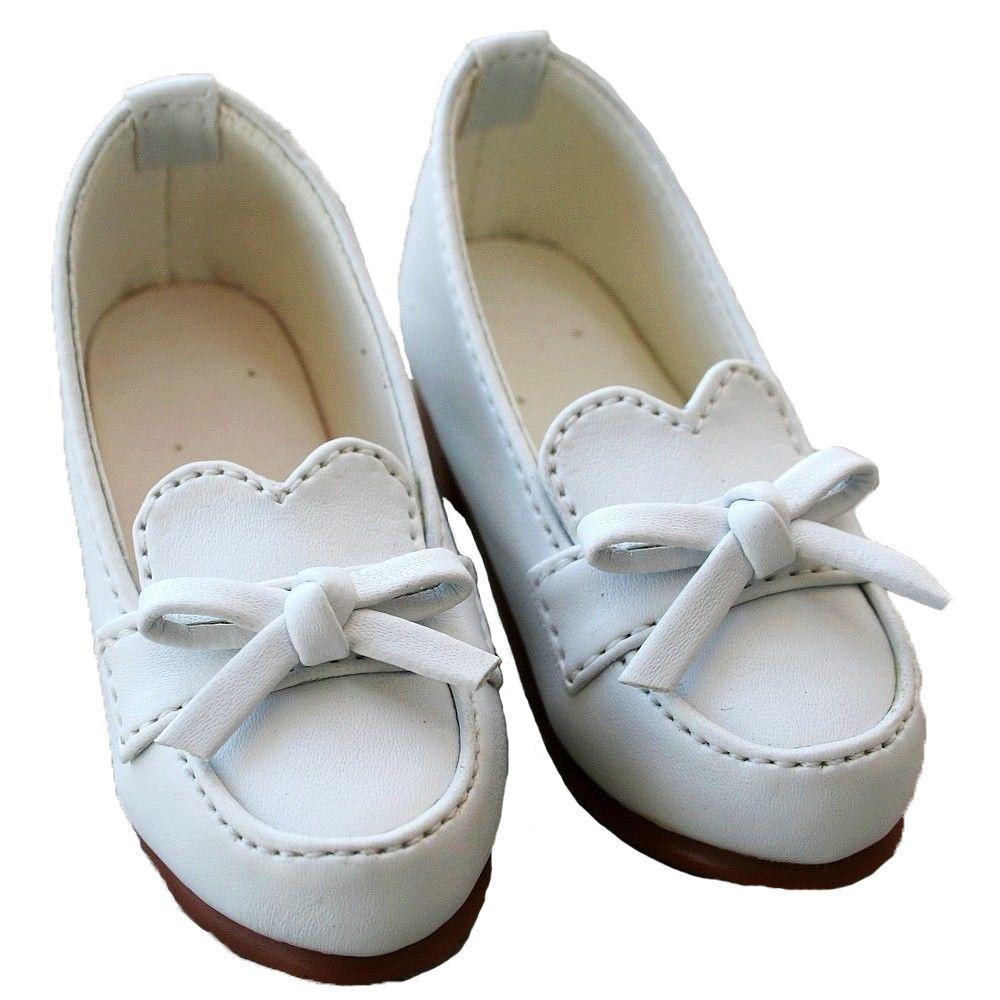 [wamami]122# White 1/4 Bow Cute BJD LOLI MSD DOD LUTS AOD Dollfie Doll Shoes