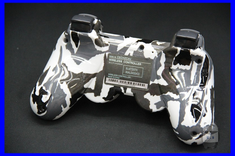 High Quality Game Accessory Stylish Camouflage Wireless Controller for Sony PS3 Playstation3- E.S.000858(China (Mainland))