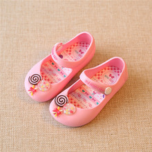 Mini Melissa Shoes 2016 Summer girls Sandals Cute Girls shoes Children Mitch Baby Shoes For Girl shoes size EU24-29 mini melissa(China (Mainland))