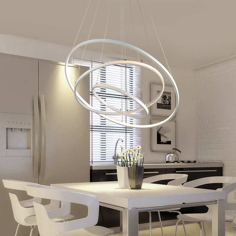 Online buy wholesale hanging light from china hanging light wholesalers - Modern pendant lighting for dining room ...