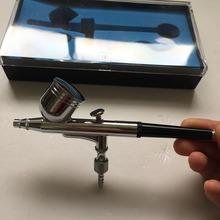 SAT5107 small airbrush compressor air horn compressor kit professional airbrush makeup(China (Mainland))