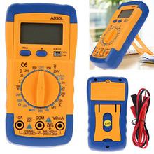 Buy Electrical Digital Multimeter LED Display Diagnostic Tool Voltmeter Ammeters Ohmmeter Multimeter Tester for $6.21 in AliExpress store