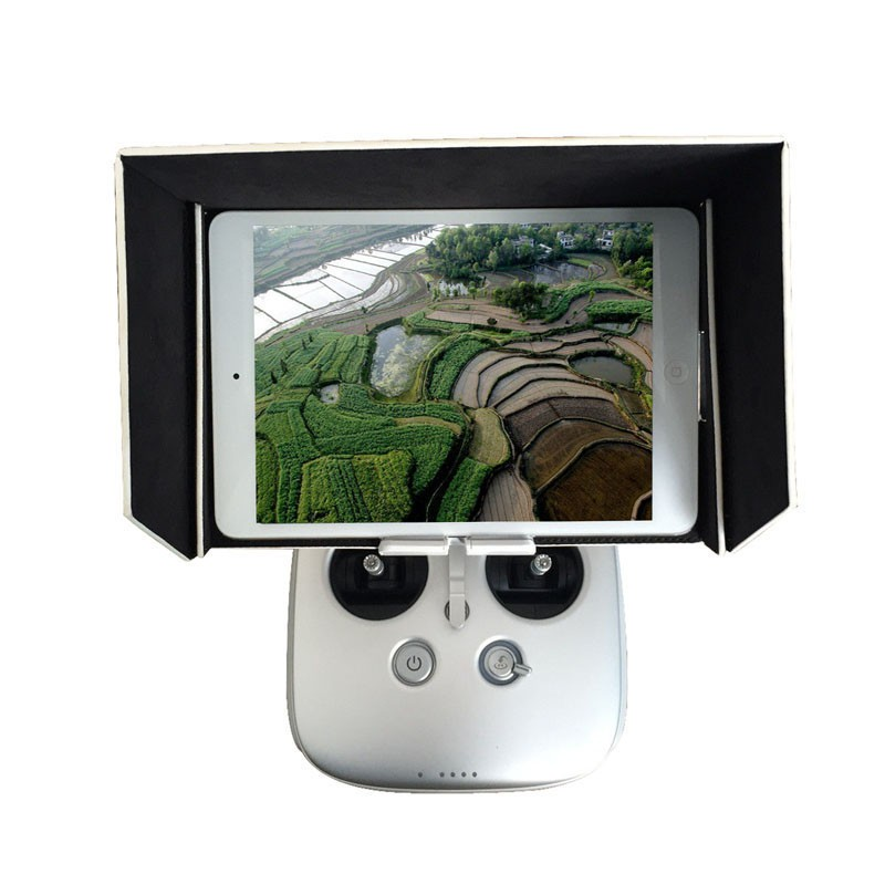 ZJM New Arrive For DJI Inspire 1 Phantom 3 / 4 Sunshade Sun Hood 9.7inch for iPad Air Tablet Free Shipping&Wholesales
