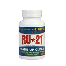 Ru 21 wake up  Clear 120 tablets  support The body's natural ability to metabolize alcohol free shipping