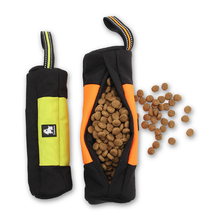 Practical Nylon Portable Dog Food Bag Carrying Snacks Training Suit All Kinds Of Dogs Golden Retriever Satsuma(China (Mainland))
