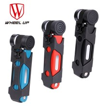 Buy WHEEL UP 3 colors Anti-cut Safety MTB Folding Bike Lock Professional Anti-theft Alloy Steel Foldable Bicycle Lock Keys Password for $26.04 in AliExpress store