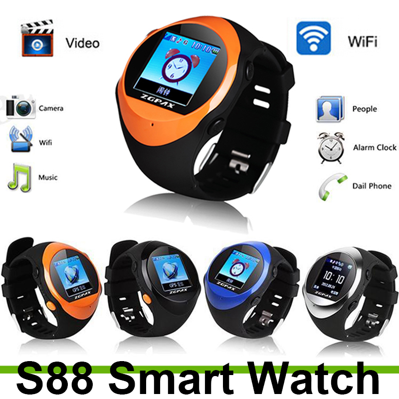 2015 For smart watch PG88 personal Sport Travel Security Monitor GPS Tracking Watch Phone Support MP3/4 player Sutable Kids-1<br><br>Aliexpress