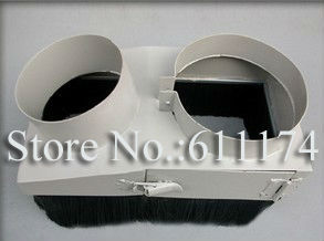 CNC Router Accessories Dust collector Cover wood cnc spindle motor dust collector device D80mm