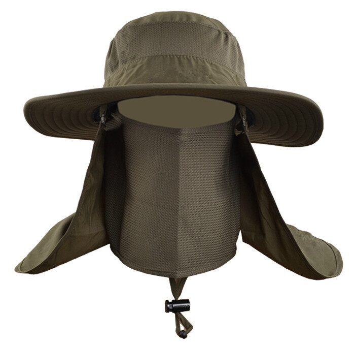 Wholesale outdoor men women collapsible fast quick drying for Fishing sun hat