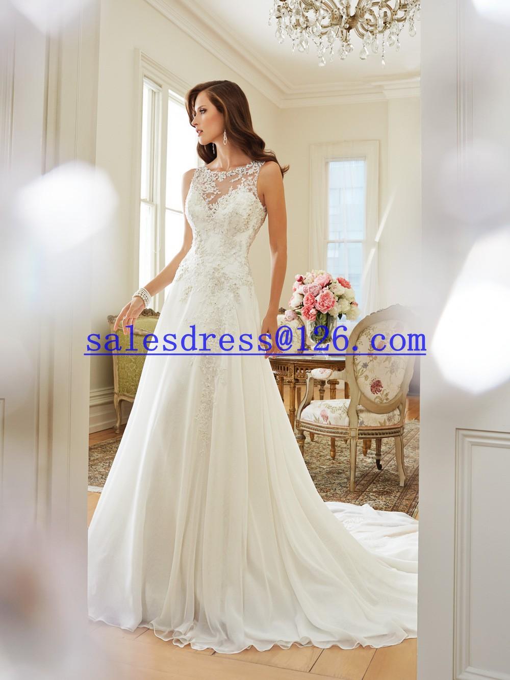 Robe de noiva a ligne robe de mari e dos ouvert sexy robes for Concepteurs de robe de mariage australien en ligne