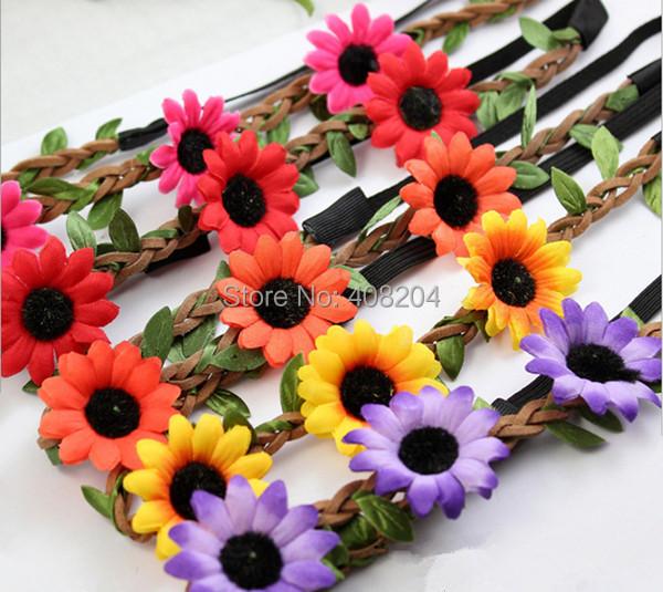 Head Wreath Name Floral Wreath Head Piece