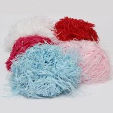 100g Shredded Tissue Paper Gift Wrapping Hamper Basket Coloured Filler Packaging(China (Mainland))