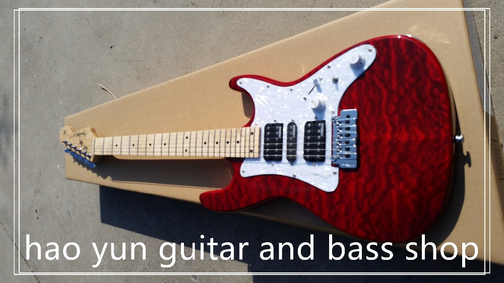 free shipping Top quality - HOT SALE st Eric Clapton Signature Maple fingerboard electric guitar 719 stratocaster(China (Mainland))