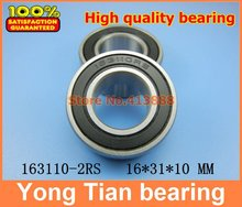 163110-2RS 163110 ball bearing 16x31x10mm 163110 2RS bike axis repair bearing unstandard 6002-2RS