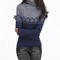Hot Sale Women s Sweaters Cashmere Knitwear Winter Fashion Woolen knitted pullovers Turtleneck Dot Female Standard