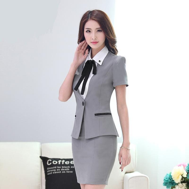 Compra estilo uniforme de la oficina online al por mayor for Trajes para oficina