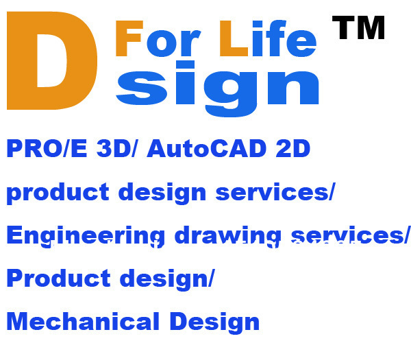 Pro e 3d autocad 2d product design services engineering for Product and service design