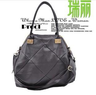 Free shipping 2015 messenger bags Korean fashion fashion leisure bag mosaic frog football bag LH-5421(China (Mainland))