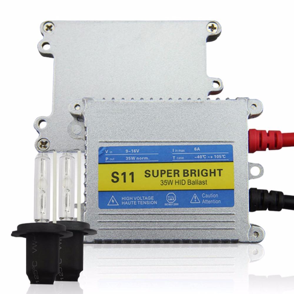 Auto Lighting H7 Xenon HID Conversion Kit 12V 35W Slim Ballast 3000K 4300K 5000K 6000K 8000K 10000K<br><br>Aliexpress
