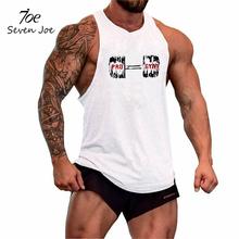 Buy Seven Joe.Brand workout vest men t shirts Summer Cotton Fit Men Tank Tops Clothing Bodybuilding Undershirt Golds Fitness man for $5.99 in AliExpress store