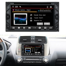 "6.2"" 2 Din HD Touch Car DVD Player Stereo Bluetooth FM Radio USB/SD Camera Input MP3/WMA/MP4/MP5 Russ/Portuguese/Spanish/French(China (Mainland))"