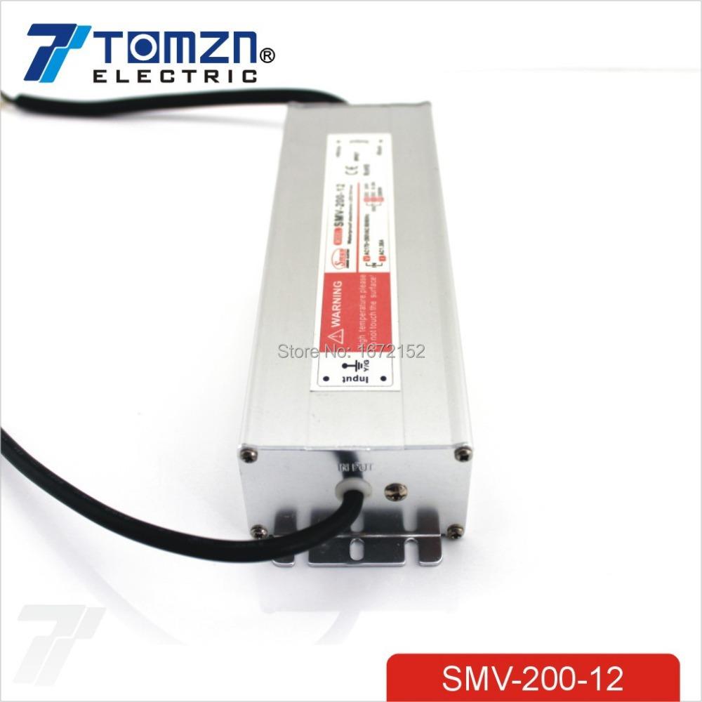 Импульсный блок питания SMUN 200W 12V 16.7a 110V SMV-200-12