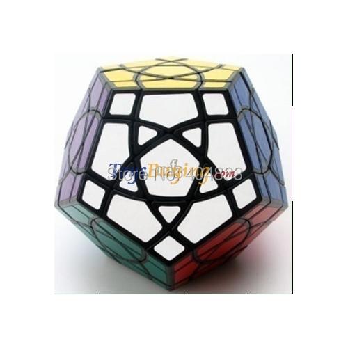 MF8 Curvy Starminx Stickered Black Magic Cube Twsit Puzzle Educational Toy Gift idea Free Shipping Drop Shipping(China (Mainland))