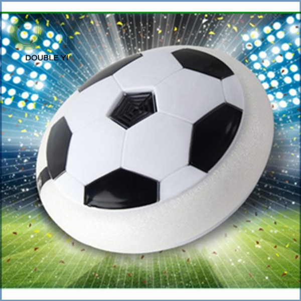 Hot sale Electric universal with colorful lights indoor air cushion football suspended football does not hurt the furniture toys(China (Mainland))