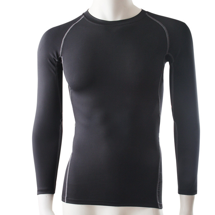 Buy hot pro men form fitting long sleeve for Long sleeve cooling mens shirts