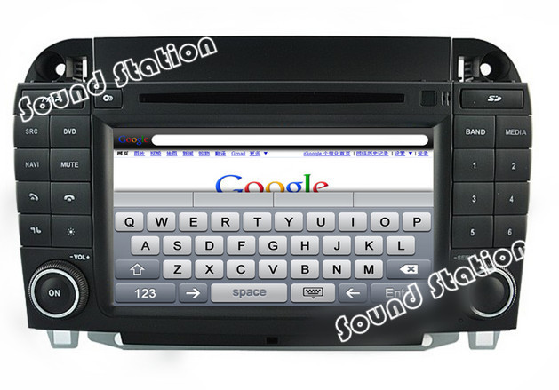 Buy for mercedes benz s class w220 cl for Mercedes benz navigation system for sale