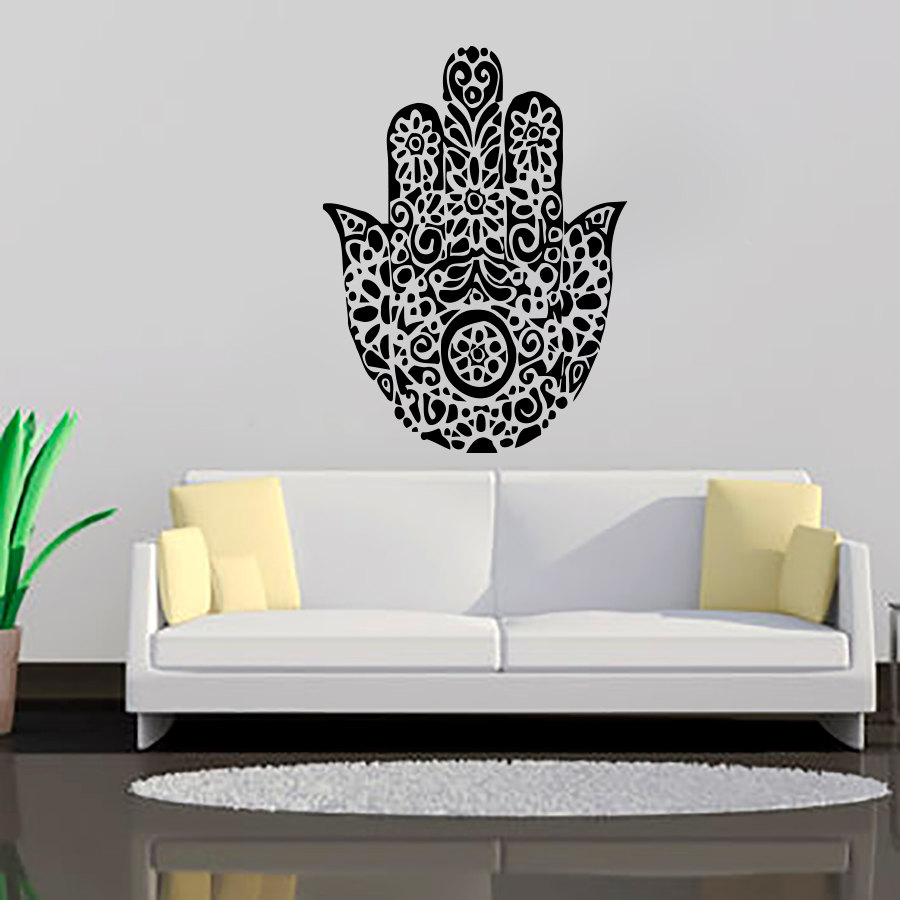 Ganesha Lord Wall Stickers Modern Style Bedroom Home Decor Indian ...