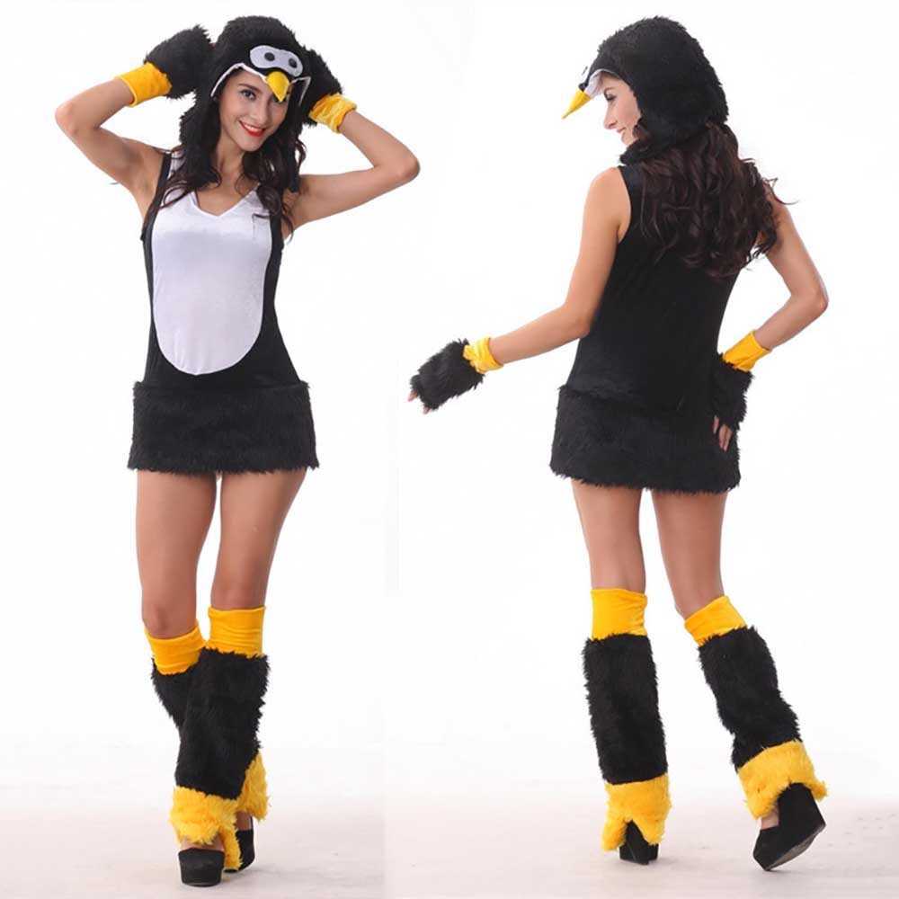 online kaufen gro handel sexy pinguin kost m aus china. Black Bedroom Furniture Sets. Home Design Ideas